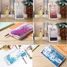 [US$3.79] Glitter Bling PC Case Cover Quicksand Style For Samsung Galaxy Note3 N9000  #bling #case #cover #galaxy #glitter #n9000 #note3 #quicksand #samsung #style