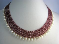 Beaded Collar Netting