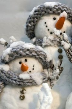 Christmas Snowman - I'm in love!!!  <3