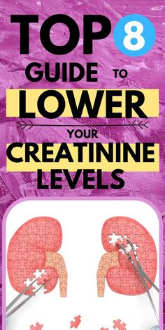 Healthy Kidney Diet, Healthy Kidneys, Kidney Health, Kidney Foods, Improve Kidney Function, Creatinine Levels, Kidney Friendly Foods, Kidney Recipes, Renal Diet