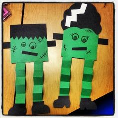 "Halloween Crafts | My Frankenstein"" Halloween Craft 
