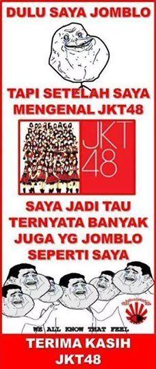 Terima kasih JKT48 - #GambarLucu - http://www.galucu.com/pin/terima-kasih-jkt48/