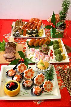 おせち料理2012☆あけましておめでとうございます - ぱおのおうちで世界ごはん☆