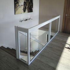 Best Indoor Glass Ballisters Interior Glass Railings Home 640 x 480