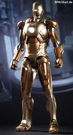 Iron Man 3: Iron Man Midas Mark XXI, Voll bewegliche Deluxe-Figur ... http://spaceart.de/produkte/irm026.php