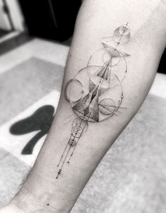 ASYLUM ART BEST FRENCH ART BLOG - Geometric Tattoos By Dr. Woo Who's Been...