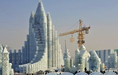 harbin china ice bank