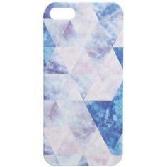 Textile Federation Prismatic Sky iPhone 5/5S Case (30 CAD) ❤ liked on Polyvore featuring accessories, tech accessories, iphone cover case, apple iphone case and iphone cases