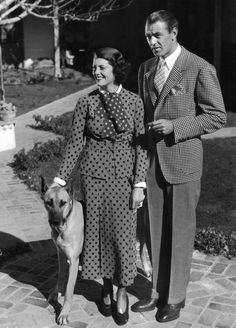 The American Checked Jacket And The Shivering Break. Gary Cooper, with his wife Sandra Shaw.