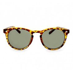 I like this rounded take on a wayfarer. Makes them a touch more feminine and the tortoiseshell is so good!