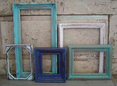 Wood Picture Frame Gallery Seaside Shore Collection $48