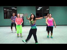 """Cumbia Tribalera"" for Dance Fitness.  really unique routine!"