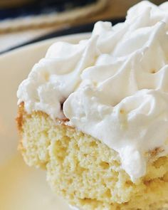 Cuatro Leches Cake - My friend, Chef Luis Otoya, shared his recipe for Cuatro Leches Cake with me. There are 4 types of milk in the cake! It's one of the most delicious desserts I've had in ages. You MUST try it!