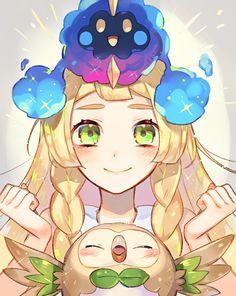 Pokemon Sun and Moon by Sa9no #nintendo #pokemon #fanart