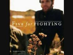 Five For Fighting – 100 Years  For Drug Recovery Assistance Call 1-855-602-5102 24/7/365   http://yourdrugabusehotline.com/five-for-fighting-100-years/