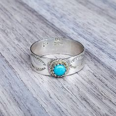 Turquoise Navajo Ring | Bohemian Gypsy Jewelry | Boho Festival Jewellery | Hippie Fashion Style | Indie and Harper