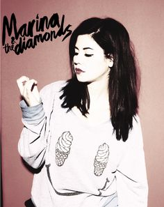 Marina and The Diamonds - Marina - sweater - ice cream