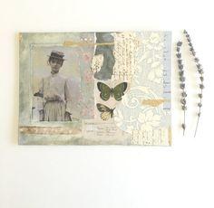 Arte original mezclado medios collage sobre por StudioMiradero