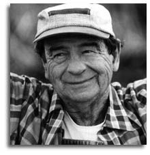 Walter Matthau.  He always makes me happy, when I look at his cute face.