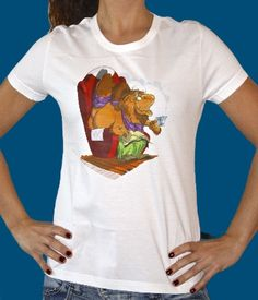 Champalao camiseta Gengis. Modelo mujer.