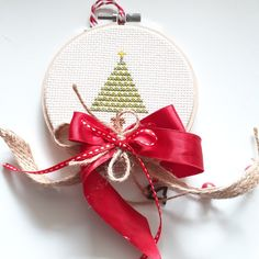 Hand Embroidery, Etsy Shop, Christmas Ornaments, Holiday Decor, Home Decor, Decoration Home, Room Decor, Christmas Jewelry, Christmas Decorations