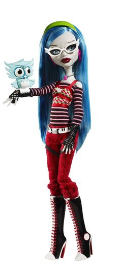 Ghoulia Yelps Basic Wave 2 School's Out Mattel Monster High doll