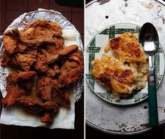 A Southern Inspired Menu | SAVEUR Southern fried chicken dinner