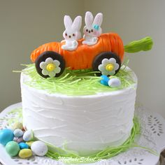 """""""Rolling with My Peeps!"""" Cake topper tutorial by MyCakeSchool.com"""
