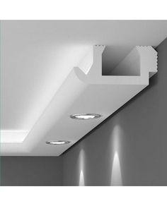 Prefabricated tray for indirect lighting. The ideal roofing solution . - Prefabricated tray for indirect lighting. The ideal solution for ceilings …, - House Ceiling Design, Ceiling Design Living Room, Ceiling Light Design, Ceiling Decor, Living Room Designs, Led Ceiling Lights, Cove Lighting, Indirect Lighting, Interior Lighting