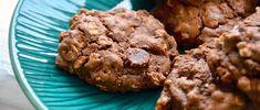 Chocolate Banana Oatmeal Cookies Recipe via @dailyburn