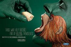 30 campagnes publicitaires choquantes qui vous dégoûtent d'être un humain