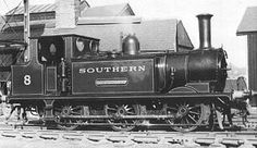 Southern (LB&SCR) Stroudley class 'terrier' T Southern Trains, Diesel, Severn Valley, Millwall, Electric, Railroad History, Steam Railway, Southern Railways, Norfolk Southern