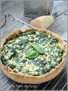a hunger for wolf: Spinach pie, ricotta . - a hunger for wolf: Spinach pie, ricotta … - Cooking Chef, Batch Cooking, Cooking Recipes, Game Recipes, Mexican Food Recipes, Vegetarian Recipes, Healthy Recipes, Vietnamese Recipes, Quiches