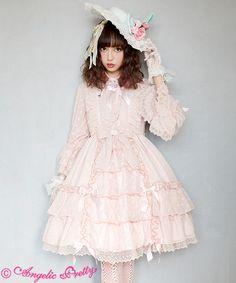 Risa Nakamura in Angelic Pretty - Lady Liliana OP Harajuku Mode, Harajuku Fashion, Kawaii Fashion, Lolita Fashion, Fashion Outfits, Japanese Street Fashion, Asian Fashion, Lolita Mode, Fancy Dress Up
