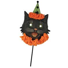 Sassy Cat Halloween Mask from Bethany Lowe Designs