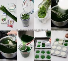 How To Make Pandan-Coconut Layered Agar Jelly01