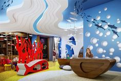 Lots of hotels have kids clubs, but this one at InterContinental Nha Trang, #Vietnam takes things to another level!