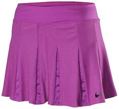 Women's Athletic Skorts - Nike Womens DriFit Premier Maria Sharapova Tennis SkirtPurpleXL *** Want additional info? Click on the image. (This is an Amazon affiliate link)