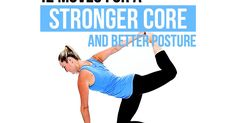 Could your posture use a boost? If you sit at a desk all day, the answer is likely yes. In this workout, you'll combine stretches and core exercises to improve your posture, range of motion, strength and flexibility -- all in a single session! Do each exercise with its complementary stretch back-to-back for the recommended number of reps,...