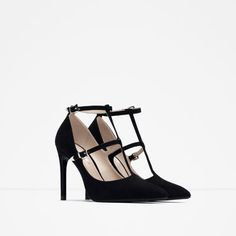 HIGH HEEL SHOES WITH ANKLE STRAPS - View all - Shoes - Woman - COLLECTION SS16 | ZARA United States