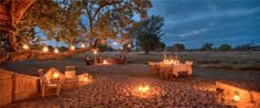Glamping Destinations, Information and Experiences Glamping, Romantic Places, Outdoor Furniture Sets, Outdoor Decor, Night Skies, Lodges, Wilderness, Safari, Around The Worlds