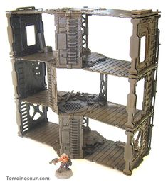 www.Terrainosaur.com :: View topic - Three-level Building