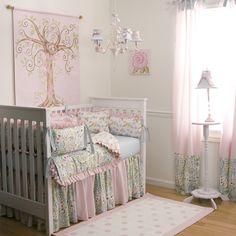 Ideas - Cuarto del bebé II - Niña // Baby Girl Room II  #decoracion #bebe #ideas