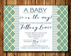 A baby is on the way baby shower invitation. #babyshower #baby #babshowerinvite #boyorgirl #tribal #tribaltheme #tribalbabyshower