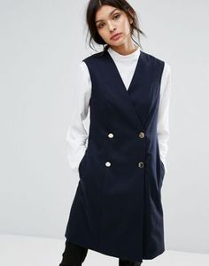 Buy Jaeger Double Breasted Gilet at ASOS. With free delivery and return options (Ts&Cs apply), online shopping has never been so easy. Get the latest trends with ASOS now. Double Breasted Vest, Jackets For Women, Clothes For Women, Women's Jackets, Teaching Outfits, Asos Maternity, Best Brand, Spring Outfits, Fashion Online