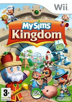 My Sims Kingdom for Nintendo Wii. Wii U Games, Video Games Xbox, New Video Games, Xbox One Games, Nintendo Switch, Nintendo Ds, Playstation, Portable Game Console, Horror Themes