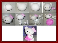 Diy Hello Kitty to try with fondant