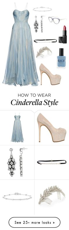 """Crystal pumps > glass slippers"" by pale-readhead on Polyvore featuring Maria Lucia Hohan, Giuseppe Zanotti, Jennifer Behr, Anne Sisteron, Tom Ford, Lauren B. Beauty and NARS Cosmetics"
