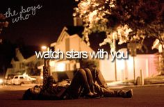 the boys who.. watch stars with you