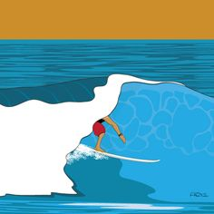Surf art Barrel